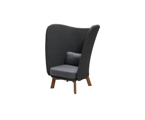 Peacock Wing Highback Chair