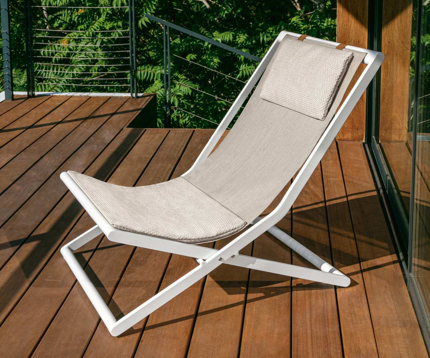 Rivera Deck Folding Chair Talenti