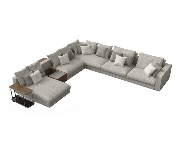 Skyline Sectional Sofa Giorgetti
