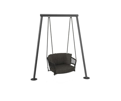 Moon Alu Swing Armchair
