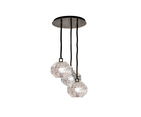 Treasure Cluster of 3 suspension Lamp