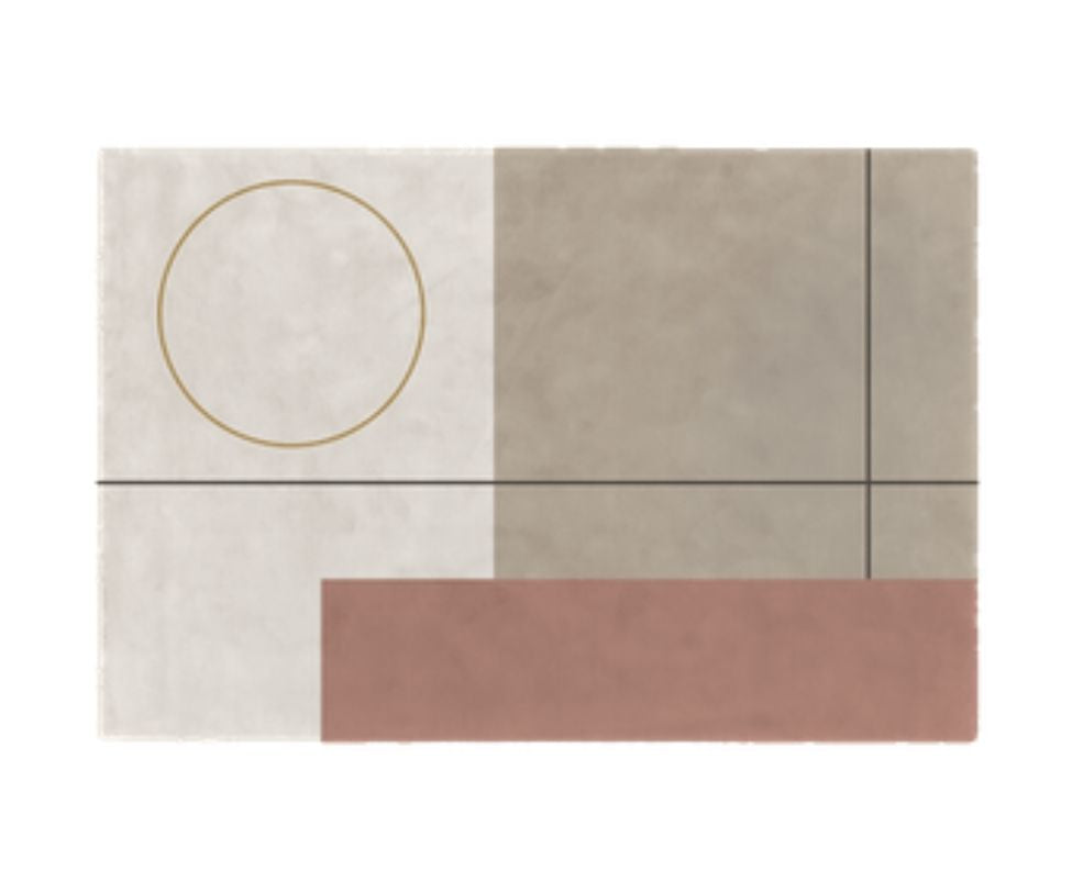 Bauhaus Pure Wool Rug Limited Edition
