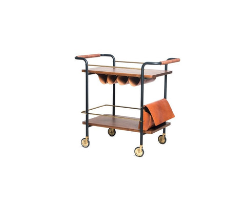 Valet Bar Cart In Stock