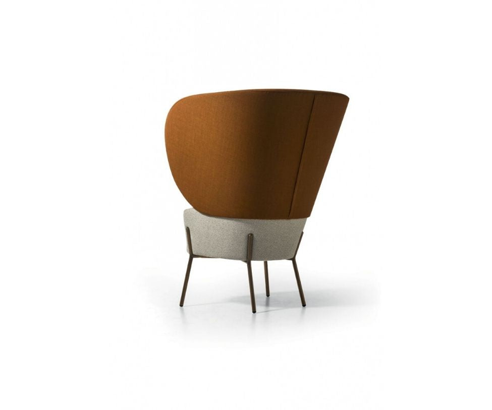 Wam 1571 Bergère Lounge Chair