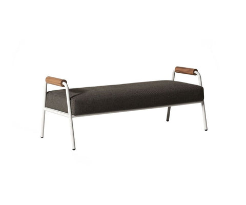 Zoe Open Air Wood Bench