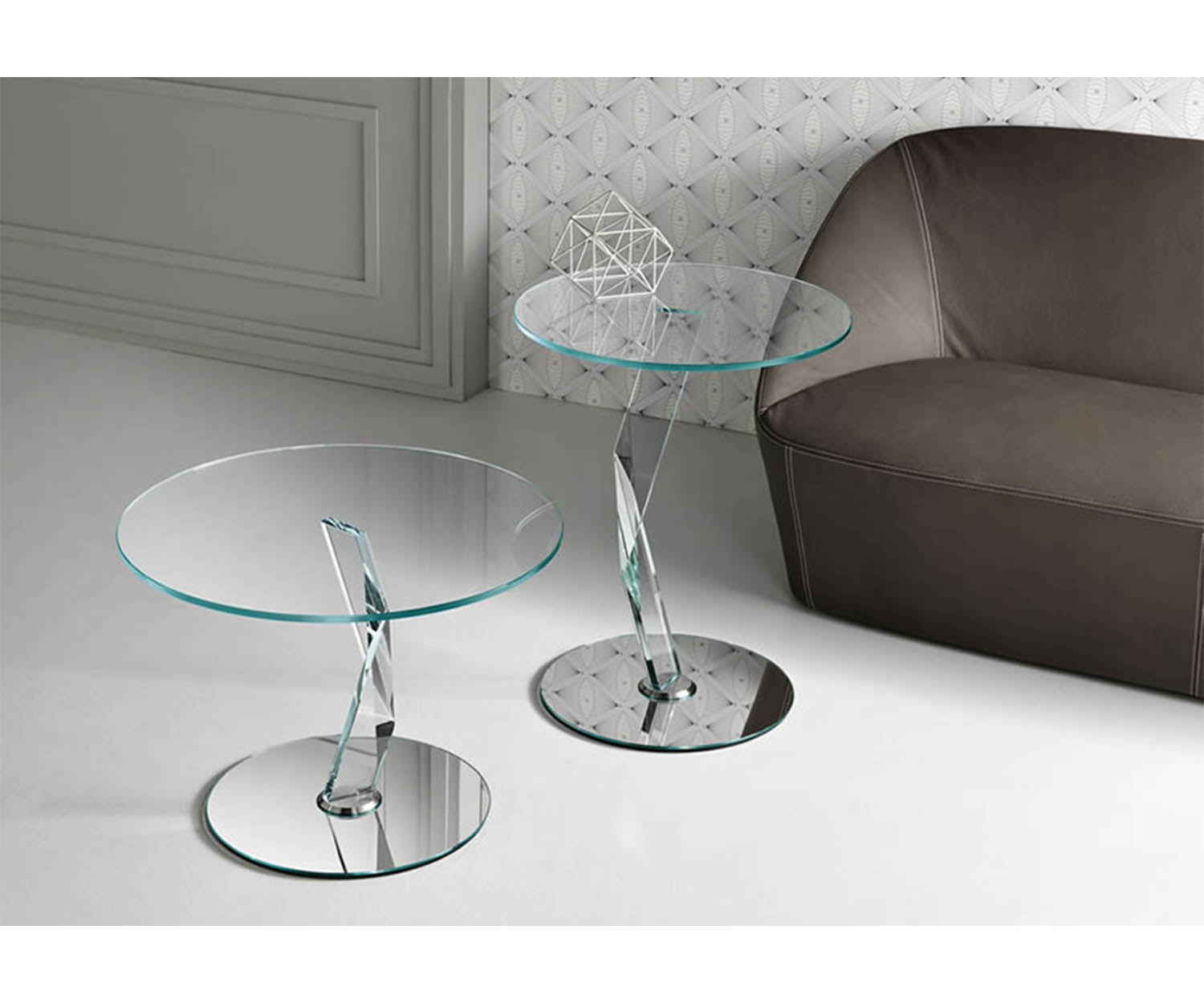 Tonelli Design Bakkarat Side Tables