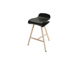 BCN Wood Base Stool