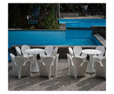 Kissi Kissi Outdoor Dining Table In Stock