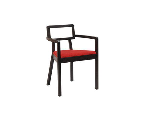 Cordoba Upholstered Seat Dining Armchair