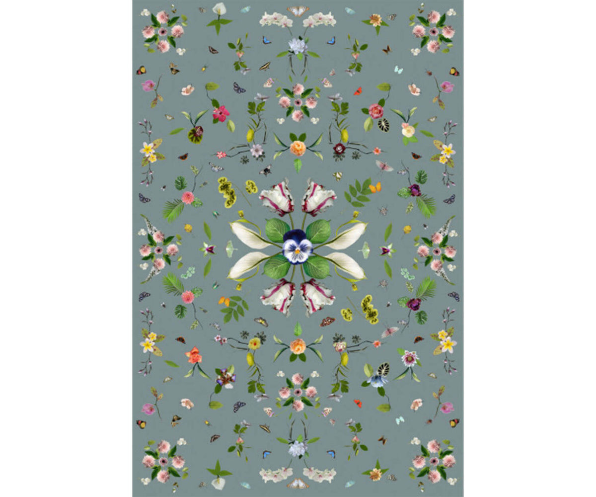 Garden of Eden Grey Rug Moooi