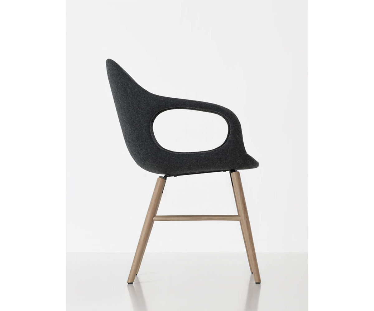 Elephant Wood Base Dining Armchair