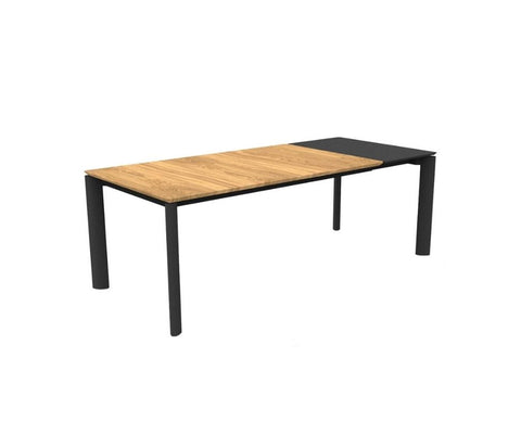 Domino 160×95 Extendible Dining Table