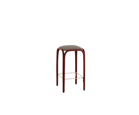 Fontal Upholstered High Barstool