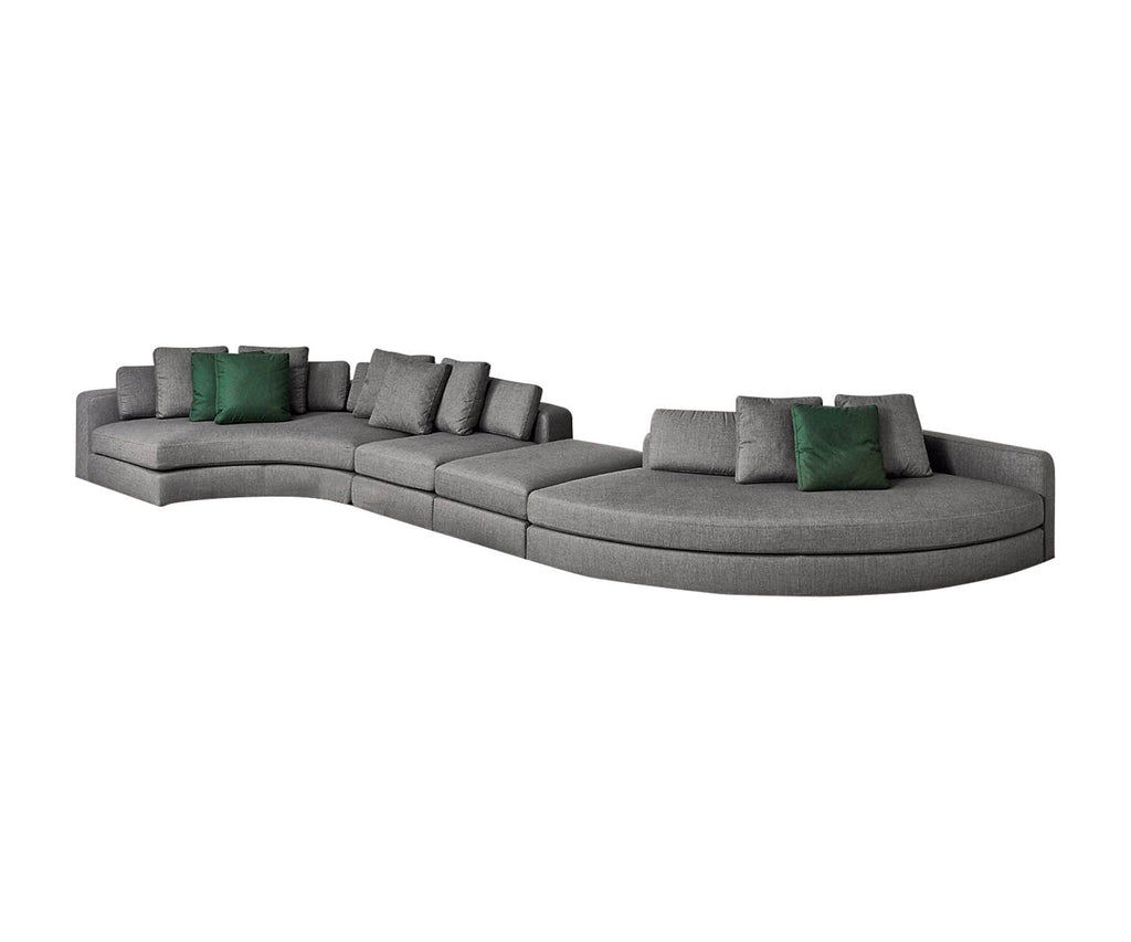 Groovy Harold Sectional Sofa Meridiani Casa Design Group Gamerscity Chair Design For Home Gamerscityorg