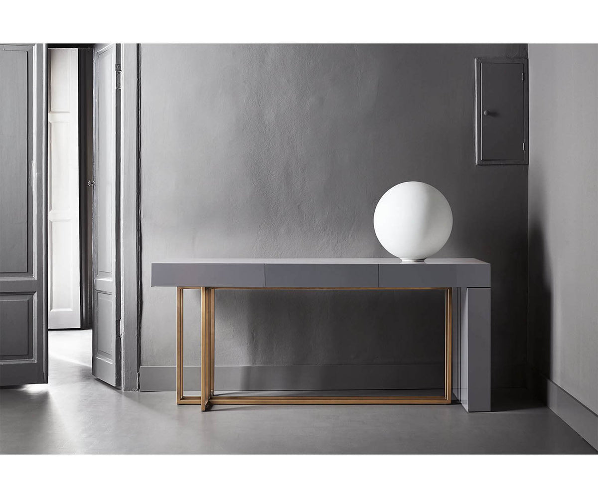 Quincy Console - Meridiani Editions Shine Meridiani