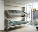 Kali Duo Wall Bunk Bed Clei
