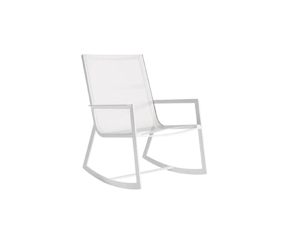 Flat Textil Rocking Chair
