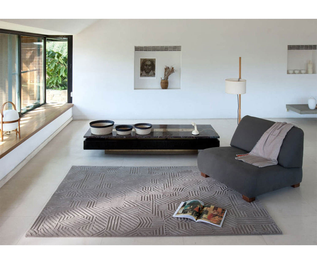 Nanimarquina African Patterns Rug in Living Room