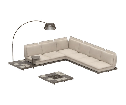 Mozaix Outdoor Lounge Set Aluminium