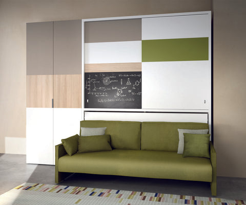 Kali Ponte Wall Bed With Sofa