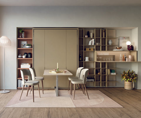 Ulisse Wall Bed With Dining Table