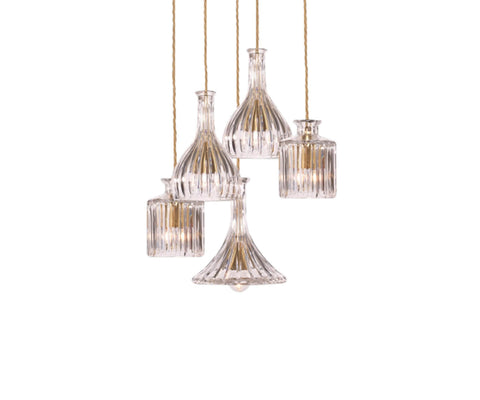 Decanter Light 5 Piece Chandelier