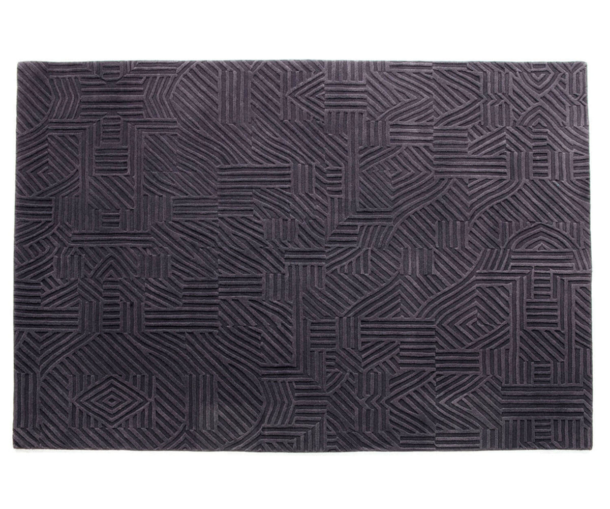 Nanimarquina African Patterns Rug Grey