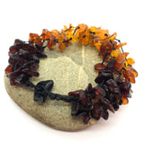 Dark Cherry and Cognac Baltic Amber Bracelet