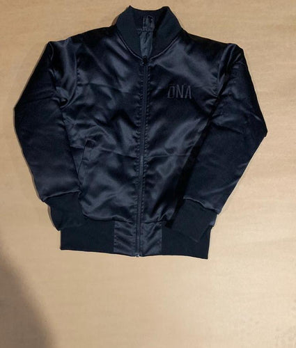 Black DNA Bomber Jacket
