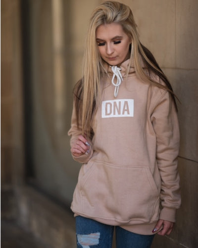 Sand Square DNA Hoodie