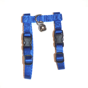 "Adjustable Harness with Bell - 3/8"" width (Ferrets)"