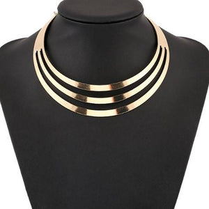 3 Rings Neckline Enhancer Necklace