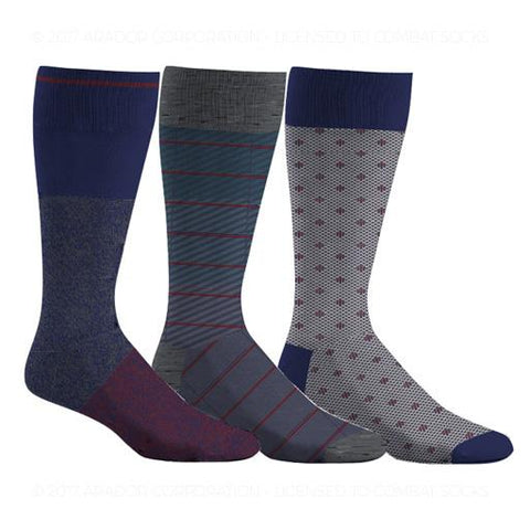 Men's Dress Socks Grab Bag (9 pairs @ $19.97) - 55% OFF