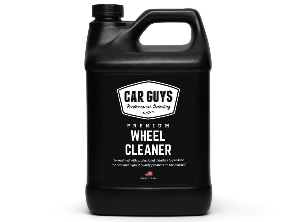 how to use car guys wheel cleaner