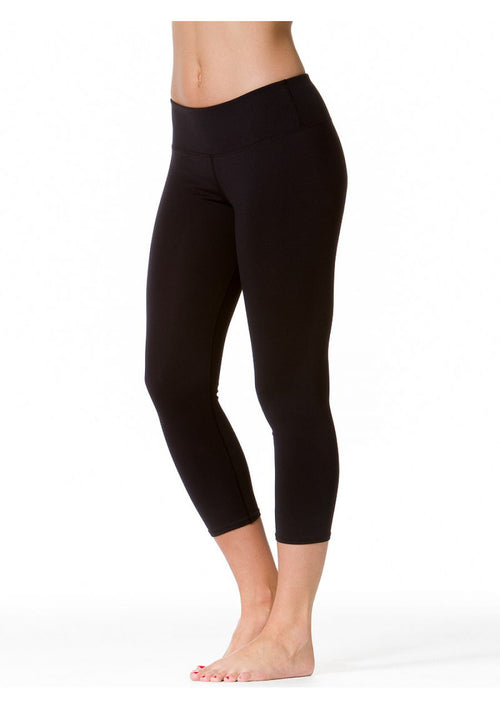 Flat Waist Capri Legging (Supplex)