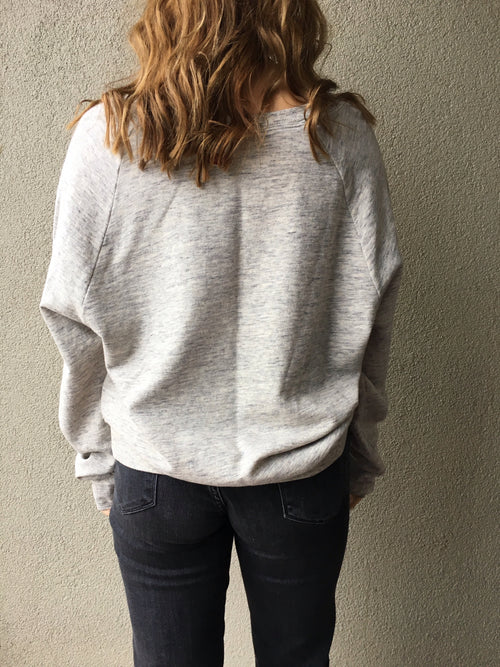 Basic Pull On Sweatshirt