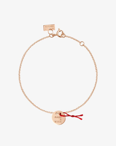 BRACELET MAKE A WISH OR ROSE 18K