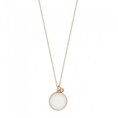 Collier Ever Agate Blanche