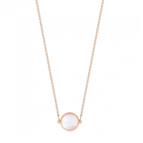Collier Mini Ever Nacre Rose