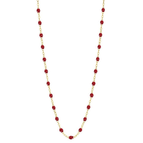 Collier Gigi Rouge