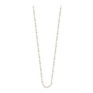 Collier Or Jaune 18K Blanc