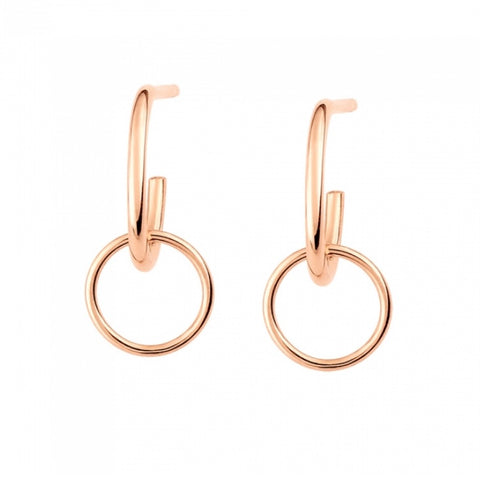 Boucles d'Oreilles Tiny Circle