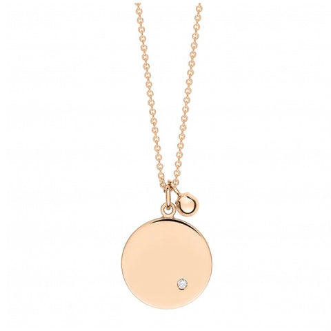 Collier Ever Disc Or