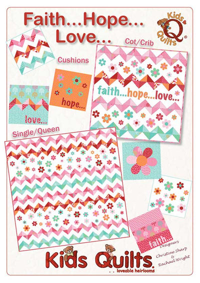 Faith Hope Love:  Digital Downloadable pattern