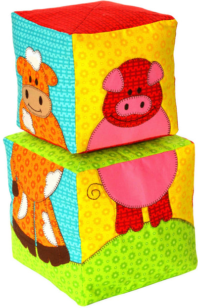 Barnyard Blocks - digital downloadable Pattern