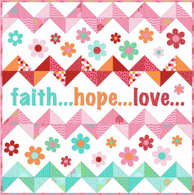 Faith Hope Love Pattern