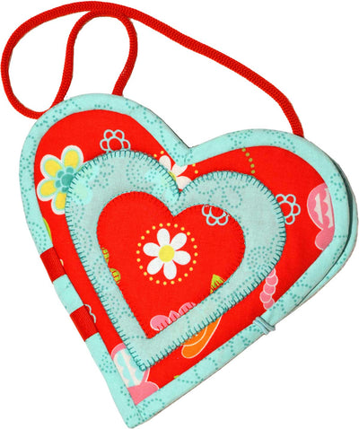Heart Clip Carry:  Digital Downloadable Pattern