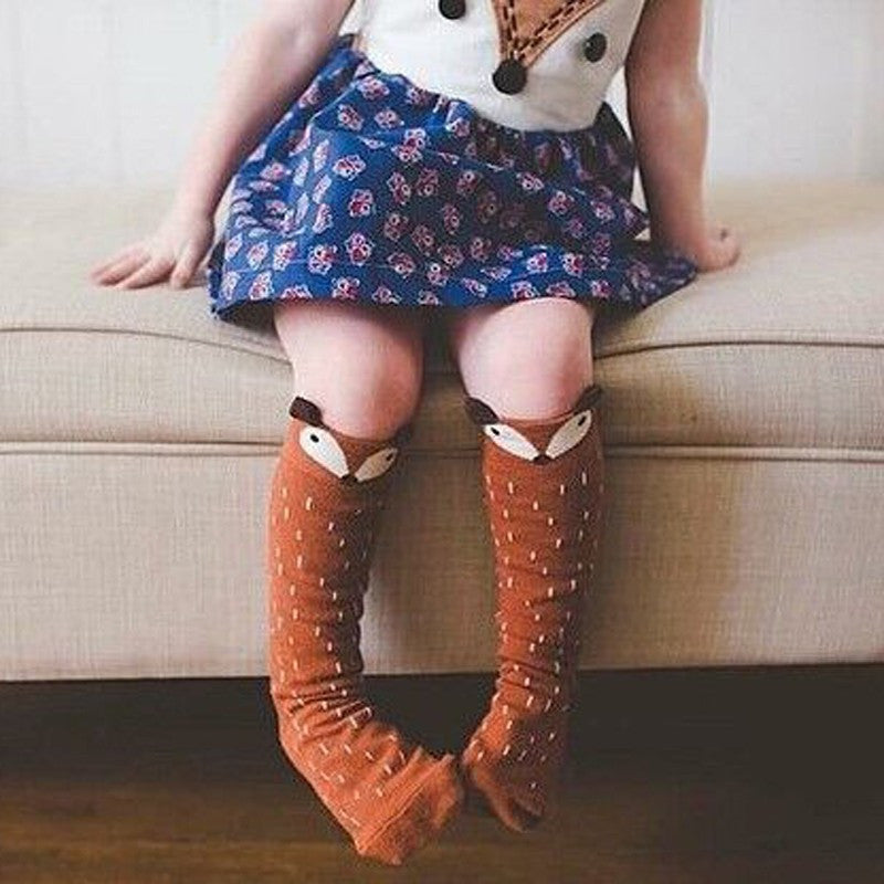 Trendy Knee High Character Socks 3M-24M