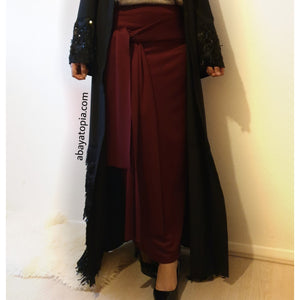 Tie Wrap Maxi Skirt - Diff colours
