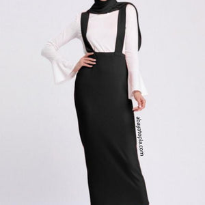 Pinafore Maxi Skirt - Diff colours